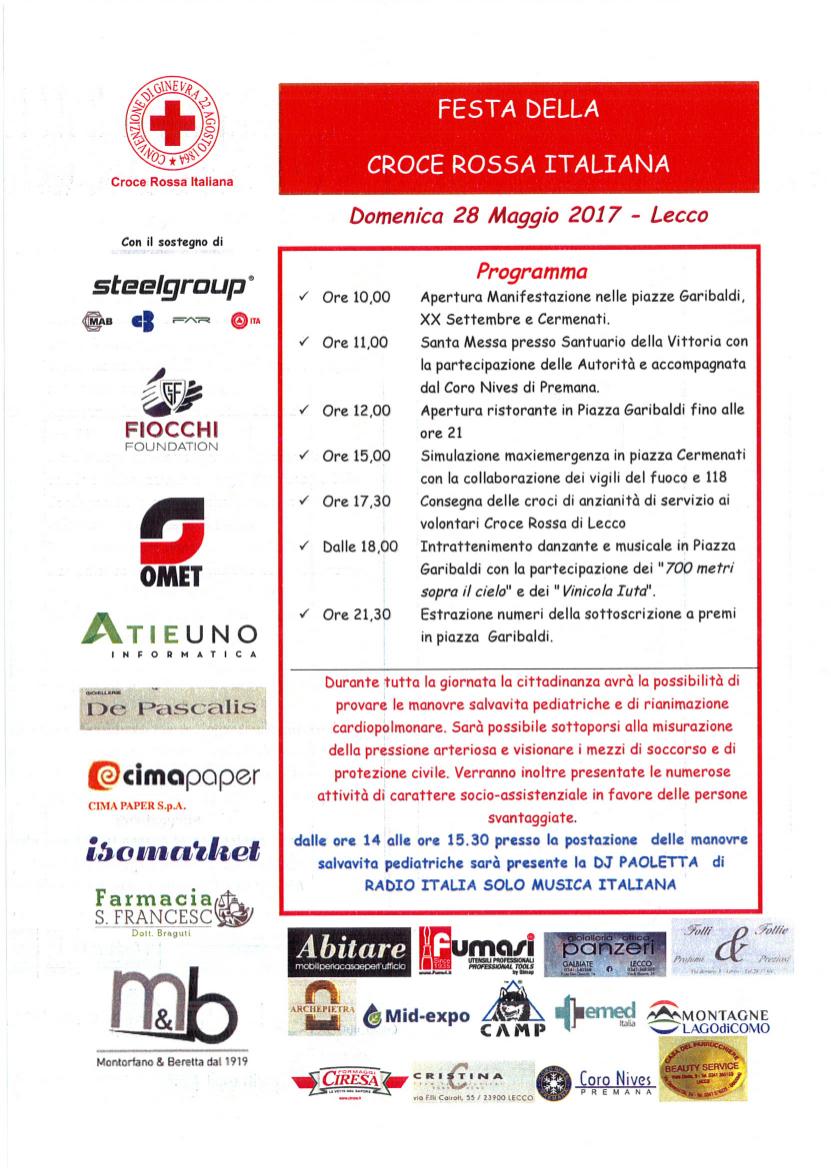 Festa della Croce Rossa a Lecco