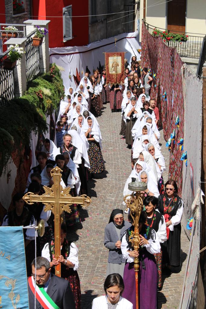 Festa del Corpus Domini a Premana