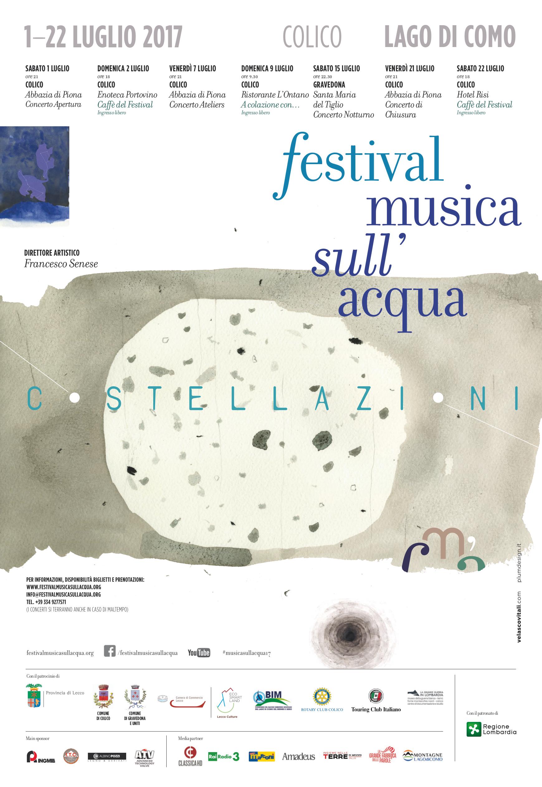 Festival Musica sull'Acqua 2017 a Colico