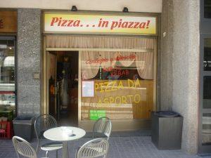 Pizza... in piazza