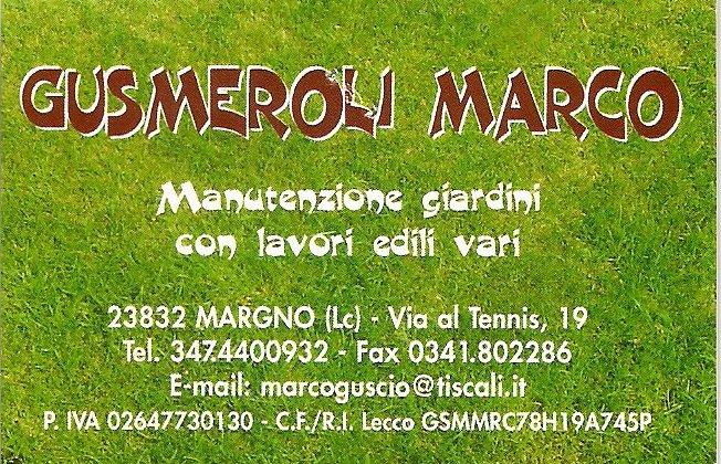 Gusmeroli Marco giardiniere