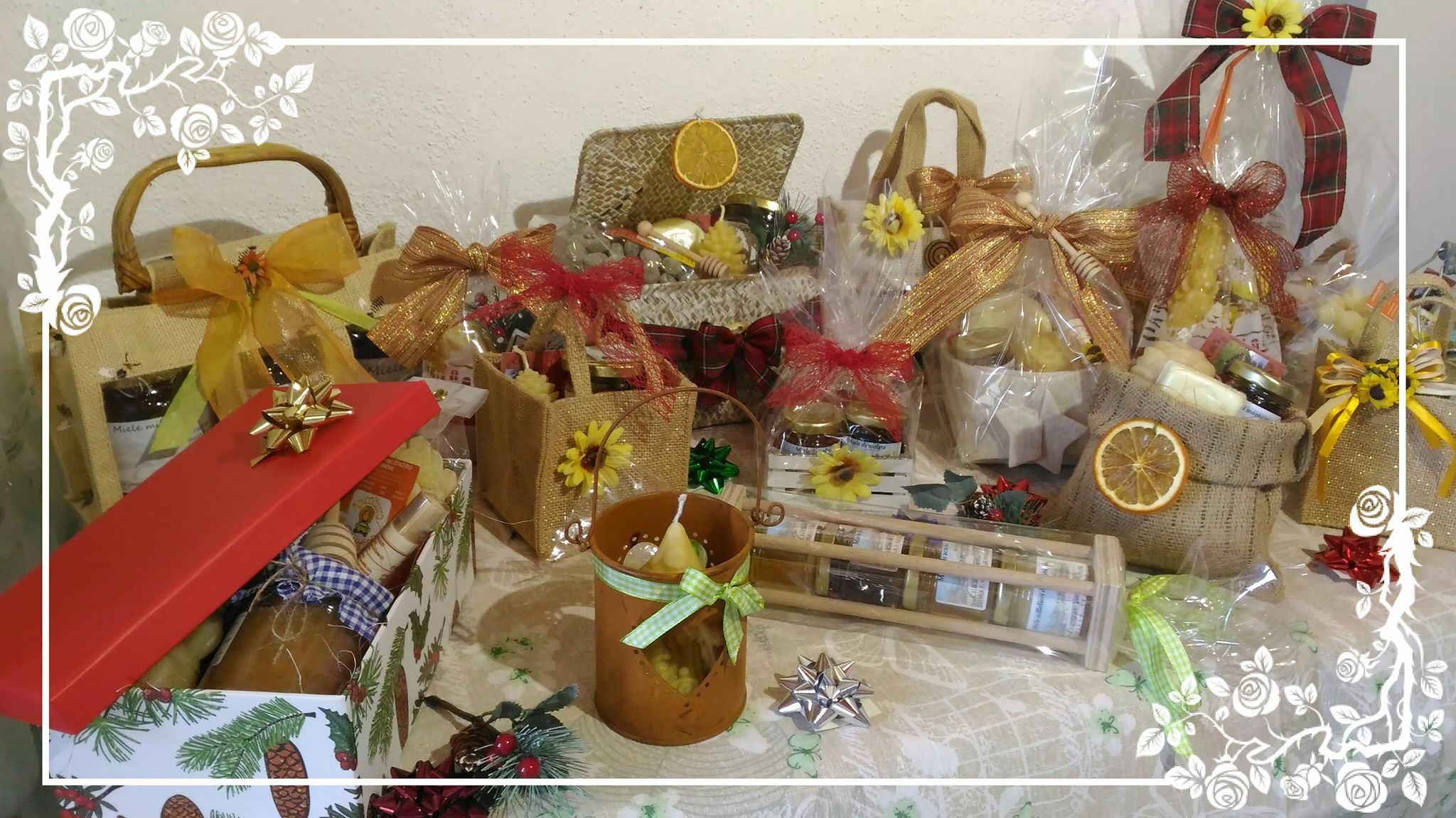 Confezioni natalizie all'Agriturismo Cà Martino