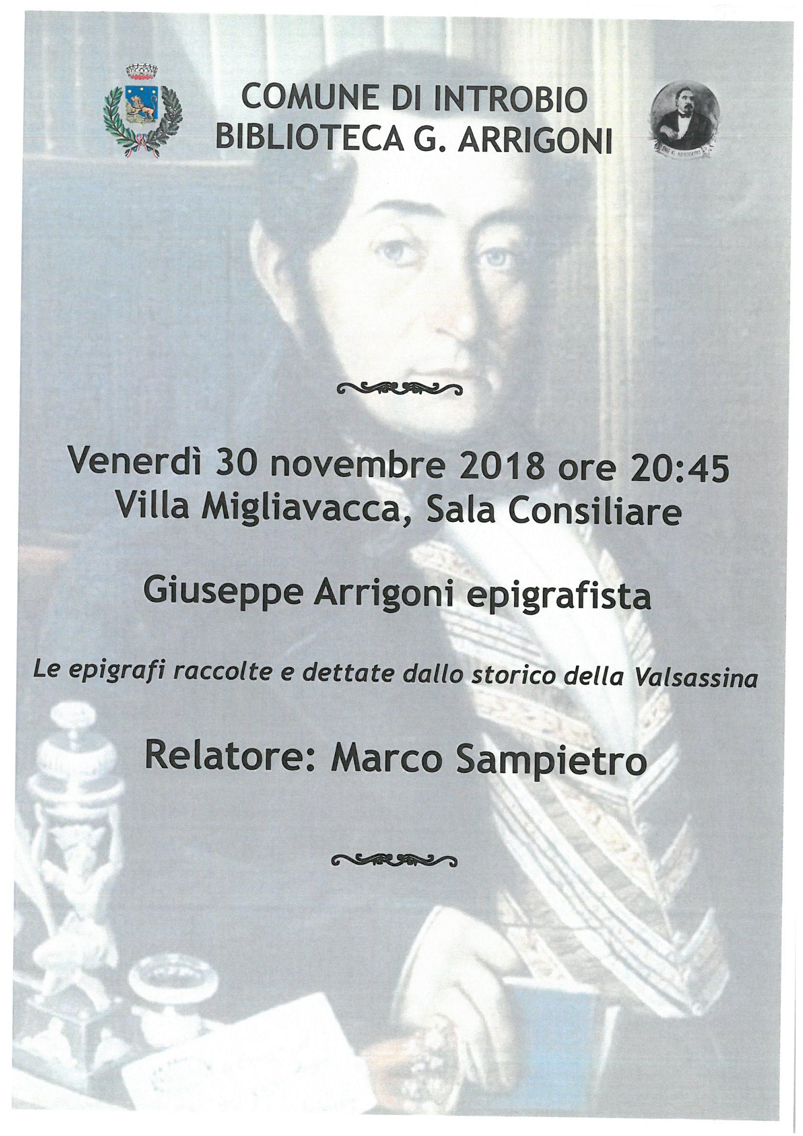 Conferenza alla Villa Migliavacca di Introbio