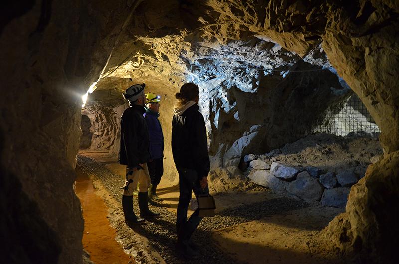 Mineralienpark Cortabbio