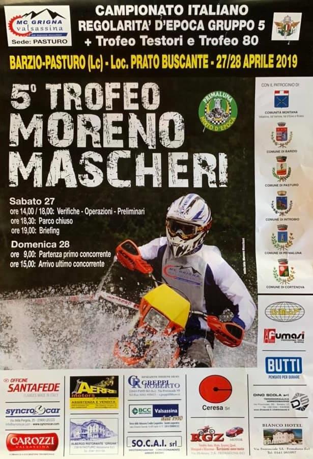 Trofeo Moreno Mascheri a Pasturo