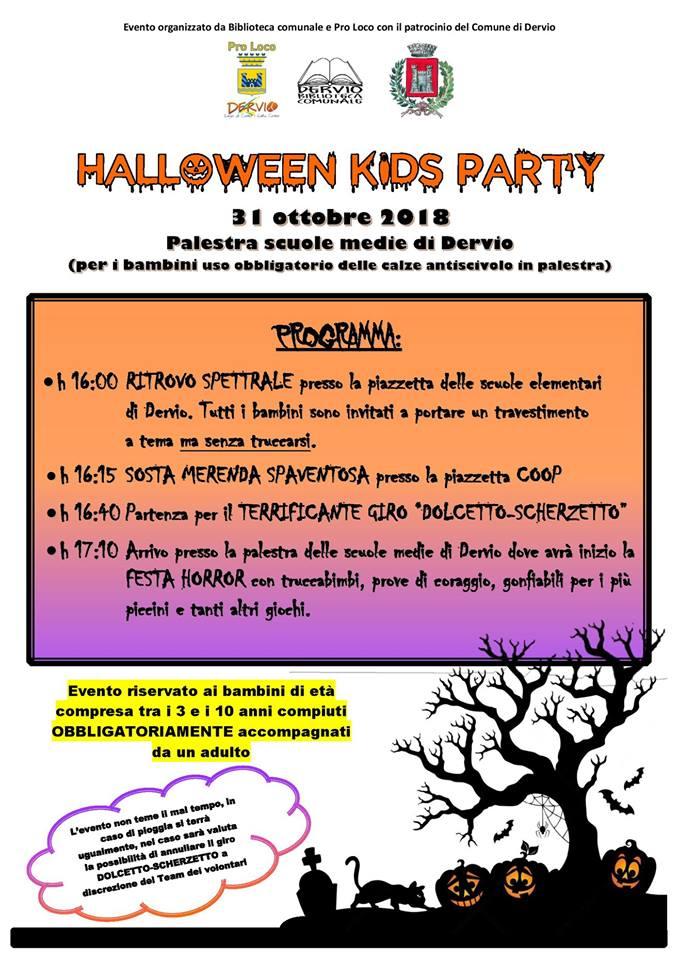 Halloween Kids Party a Dervio ~ Lago di Como e Valsassina 3de63e846a3c