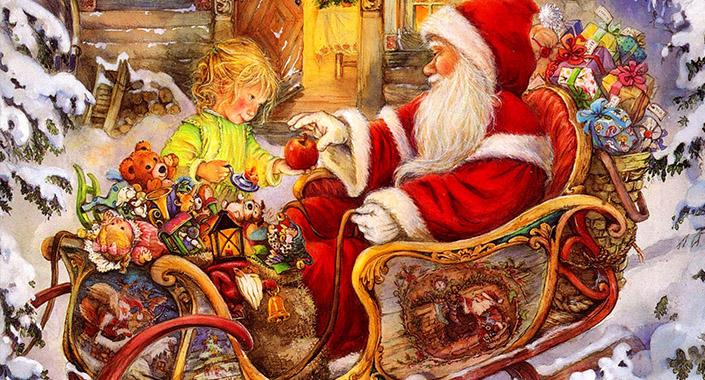 La Slitta di Babbo Natale a Varenna