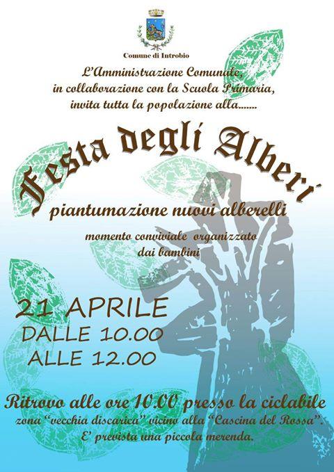 Festa degli alberi a Introbio