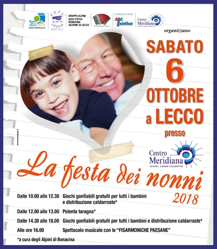 Calendario Festa Dei Nonni.Festa Dei Nonni A Lecco Lago Di Como E Valsassina