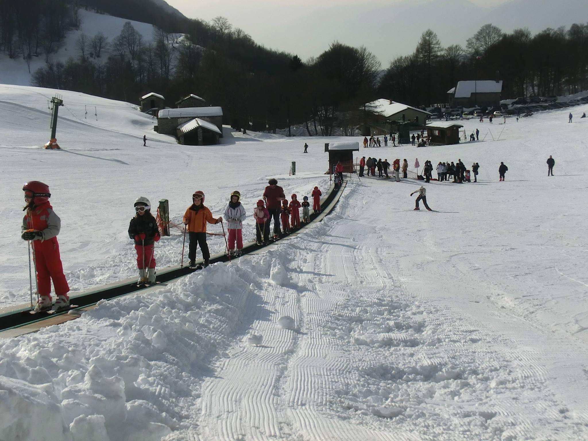 Sciare all'Alpe Cainallo