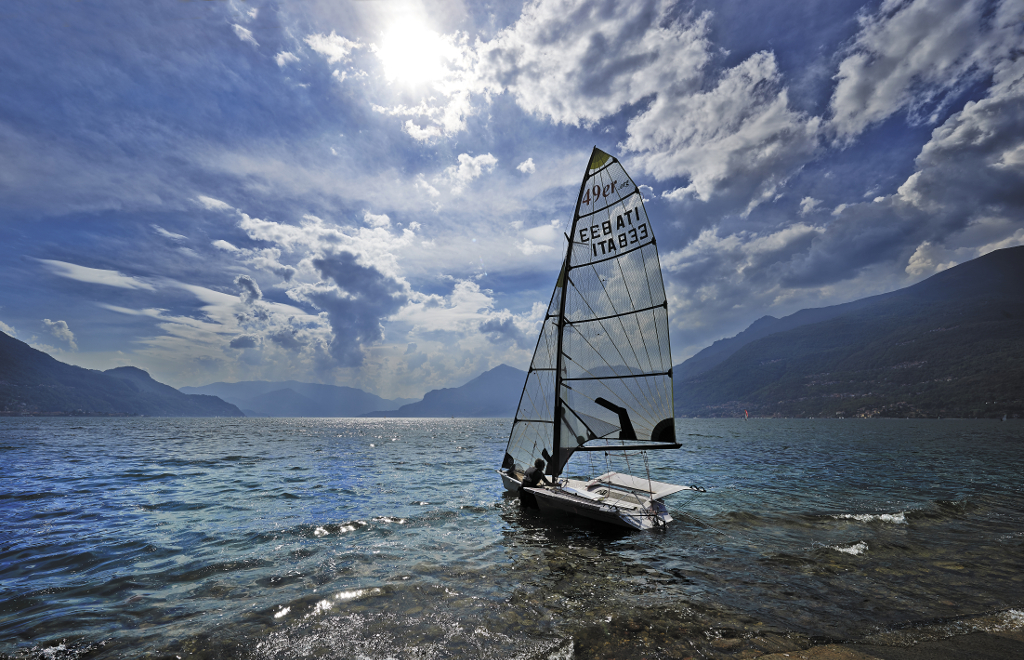 Sailing and water sports in Dervio