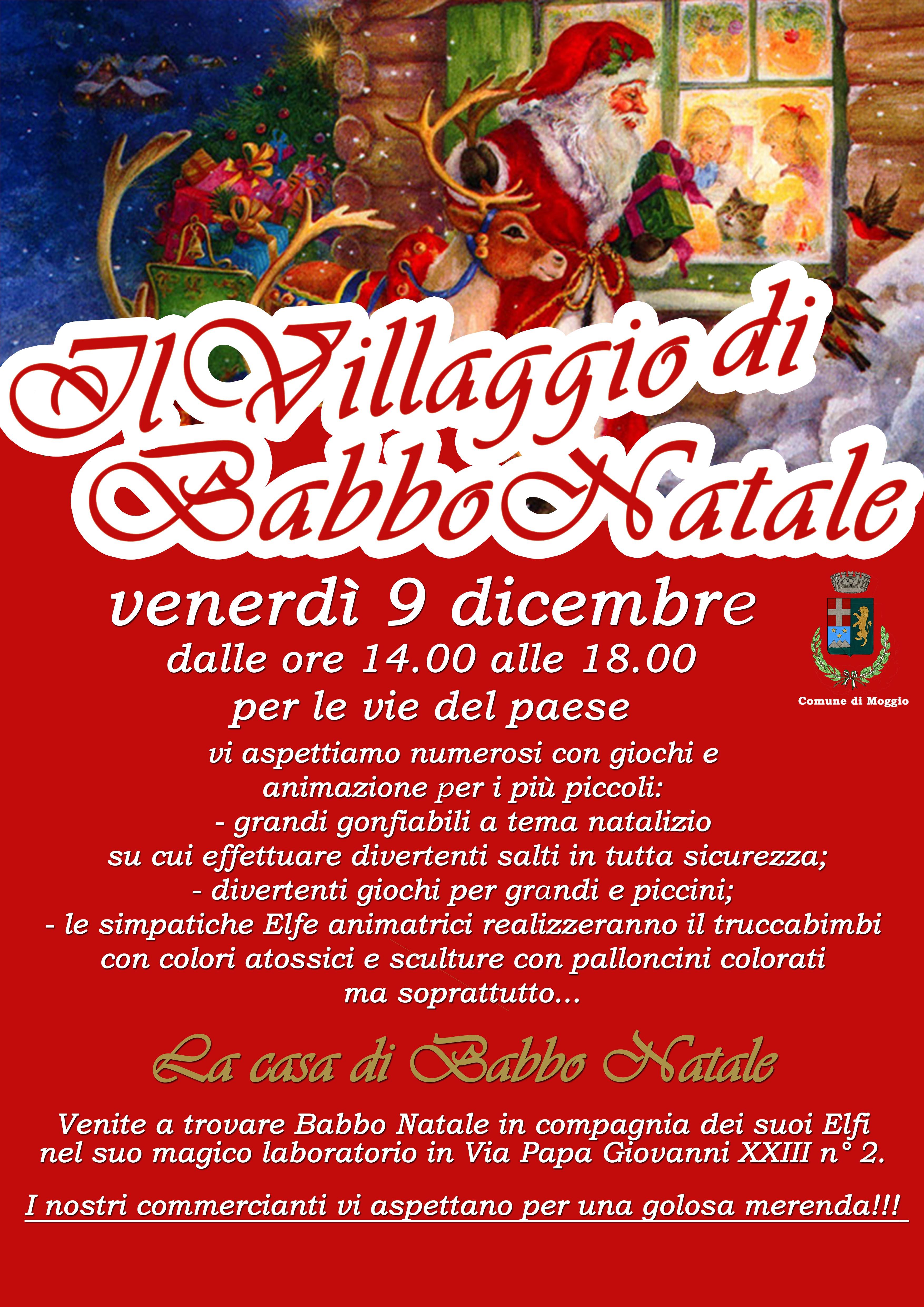 huge selection of 0a557 11276 Il Villaggio di Babbo Natale a Moggio ~ Lago di Como e ...