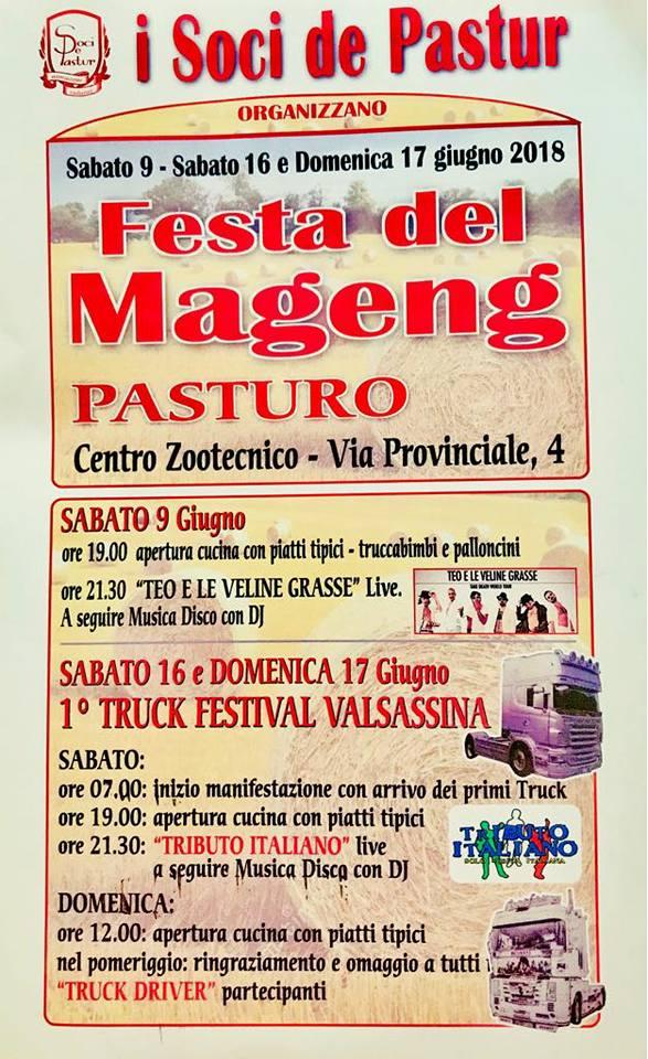 Festa del Mageng a Pasturo