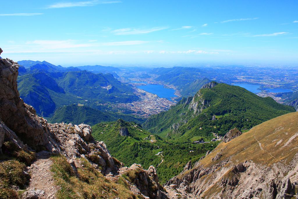 Escalade et trekking sur la Grignetta