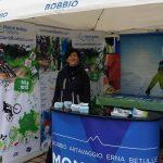 Lo stand di ITB Piani di Bobbio
