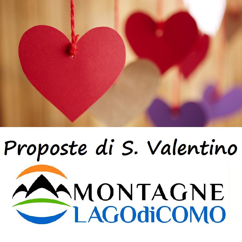 Proposte di San Valentino sulle Montagne Lago di Como
