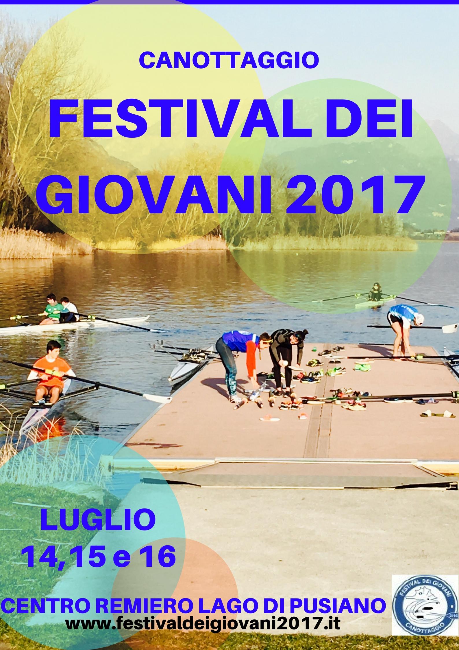 Festival dei Giovani di Canottaggio 2017
