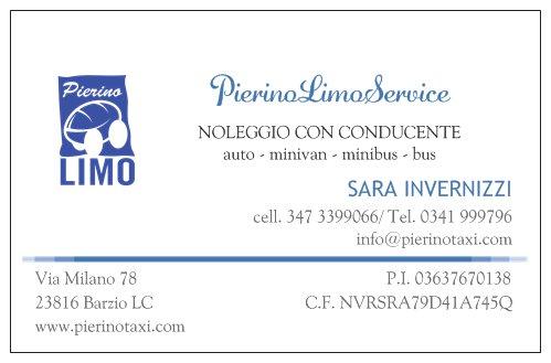 Pierino Limo Service autonoleggio con conducente