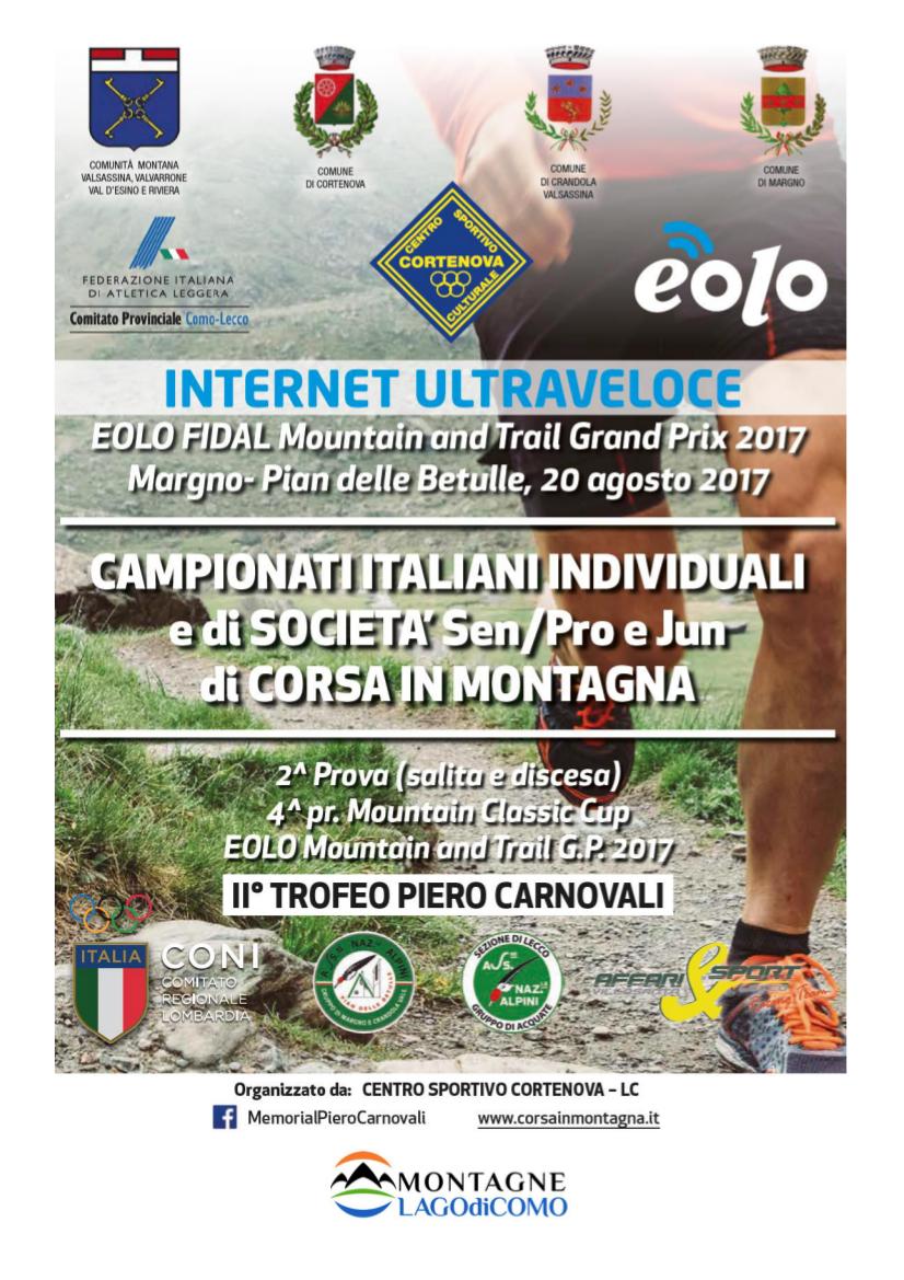 Campionati Italiani di Corsa in Montagna al Pian delle Betulle