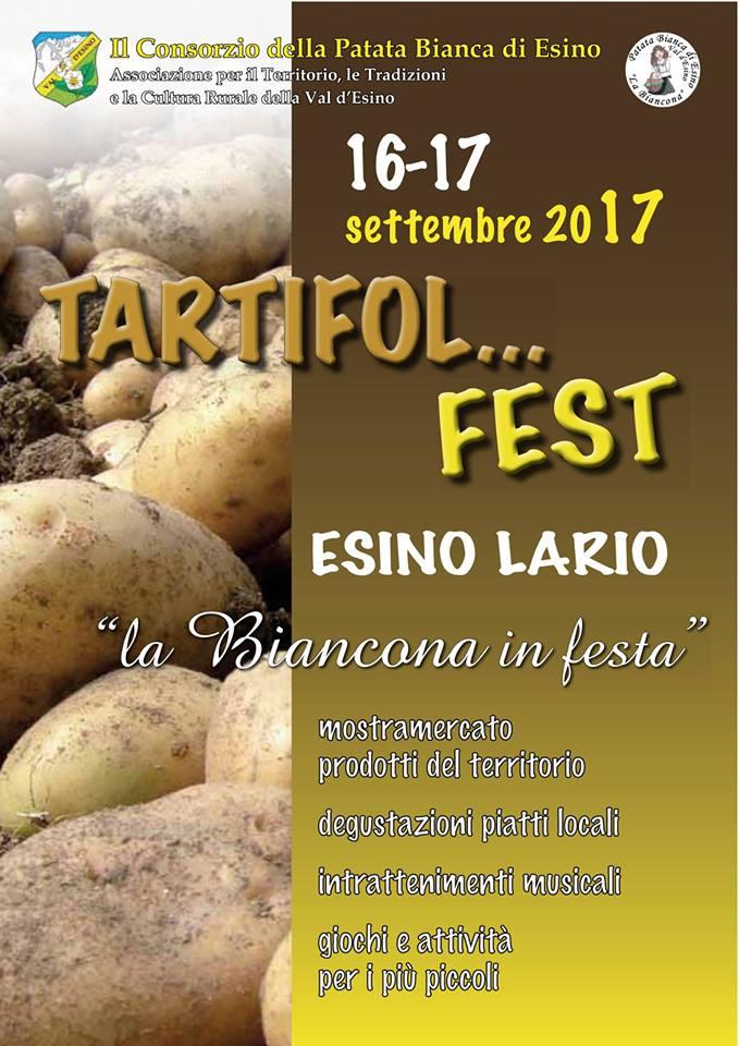Tartifol fest a Esino Lario