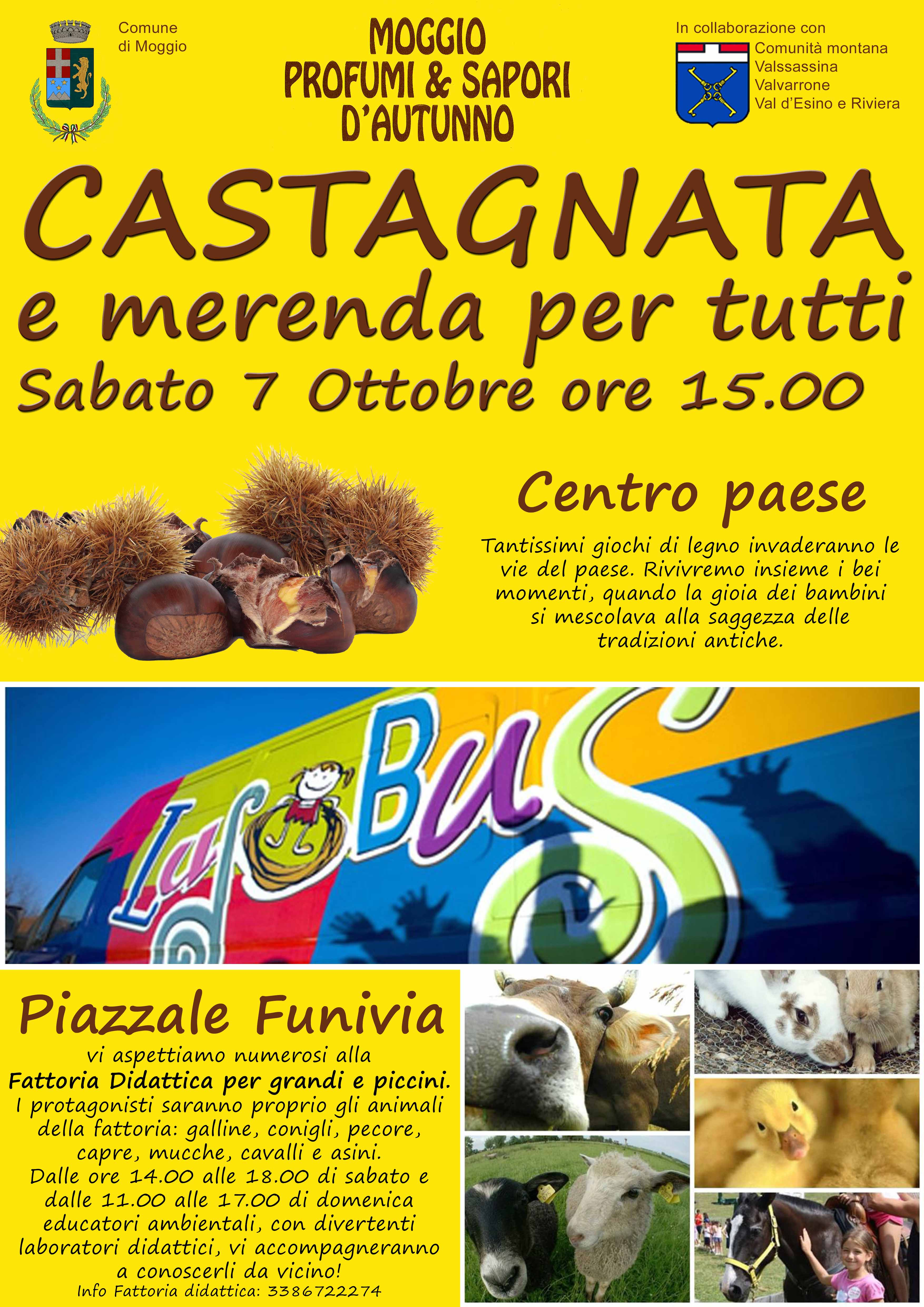 Castagnata a Moggio