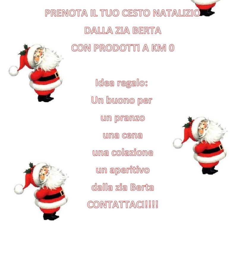 Confezioni regalo natalizie all'Azienda Agricola La Zia Berta