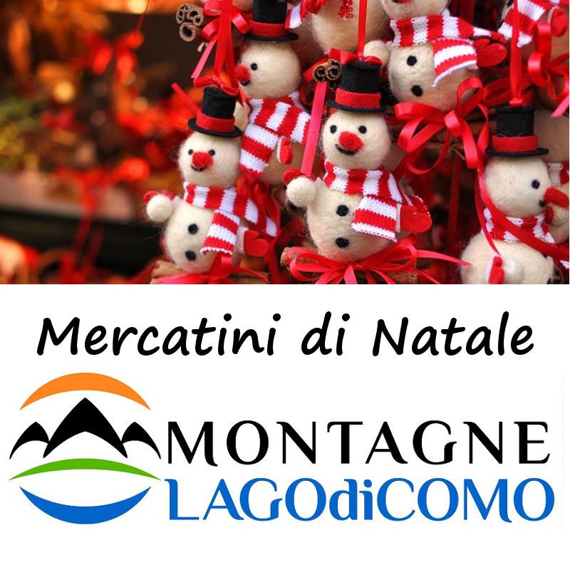 Mercatini natalizi sulle Montagne del Lago di Como