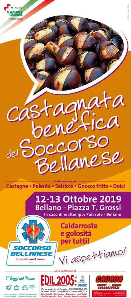 Castagnata benefica a Bellano