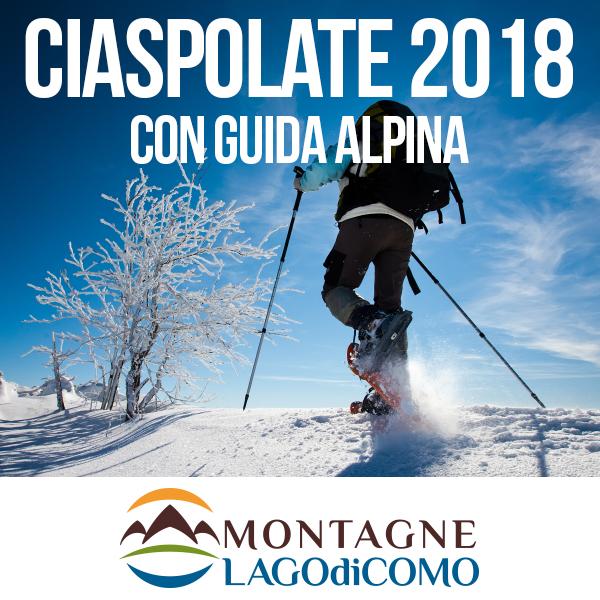 Ciaspolate sulle Montagne Lago di Como 2018