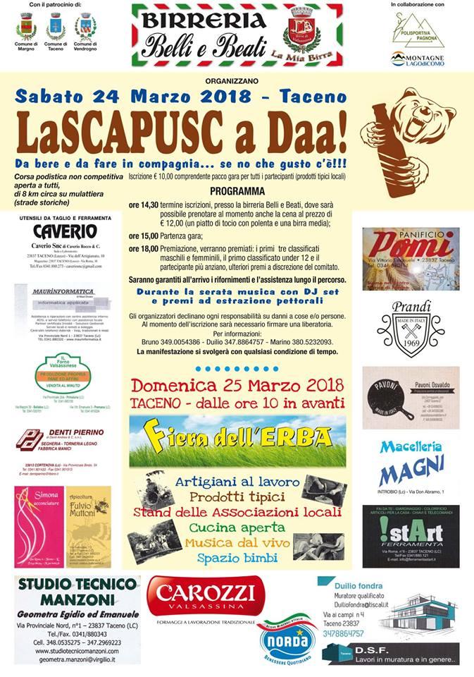 La Scapusc…aDaa a Taceno