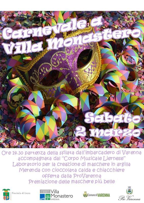 Carnevale a Villa Monastero a Varenna