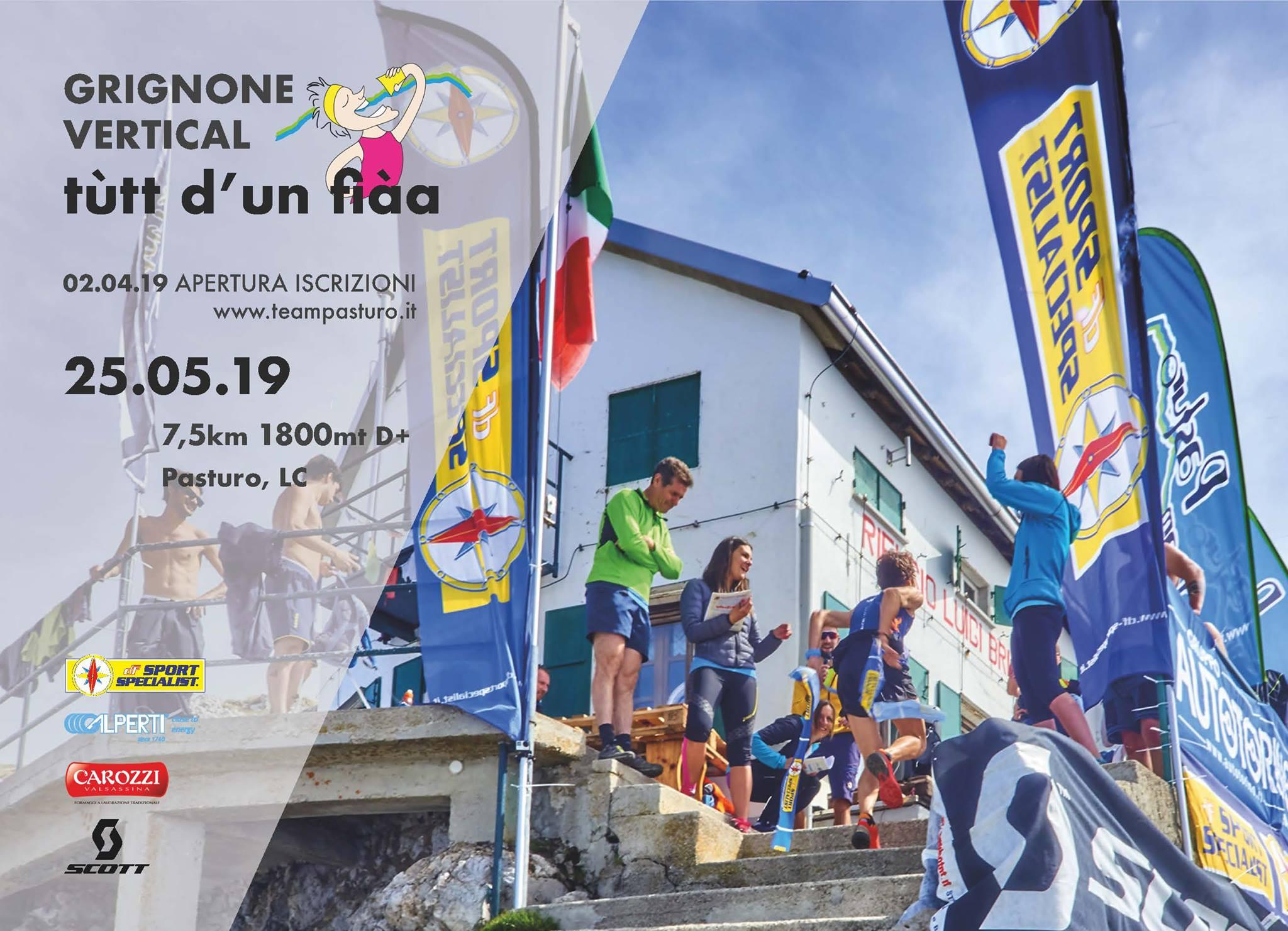 Grignone Vertical a Pasturo