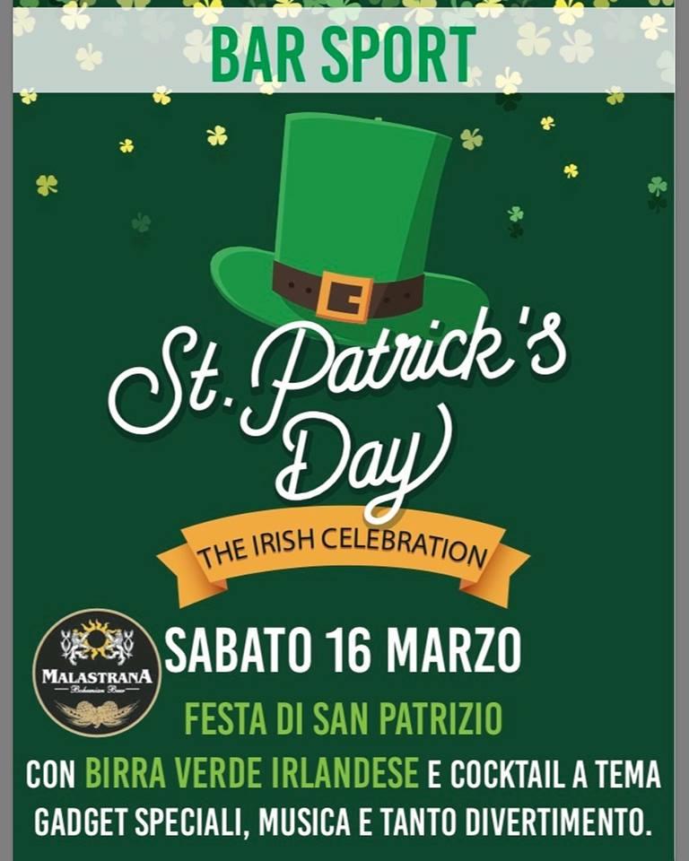 St. Patrick's Day al Bar Sport di Casargo