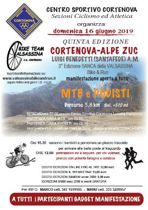 Gara podistica e MTB Cortenova-Alpe Zuc