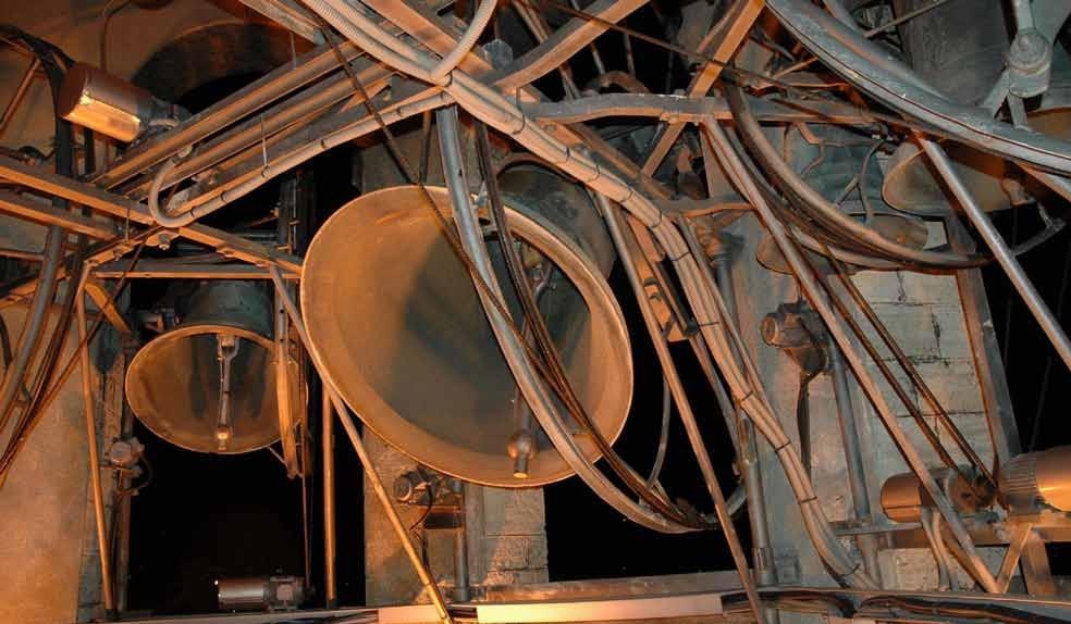 Visita del campanile di Lecco by night