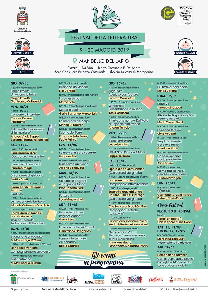 Festival della Letteratura a Mandello del Lario
