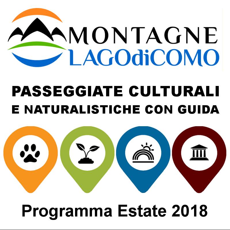Passeggiate culturali e naturalistiche ESTATE 2018