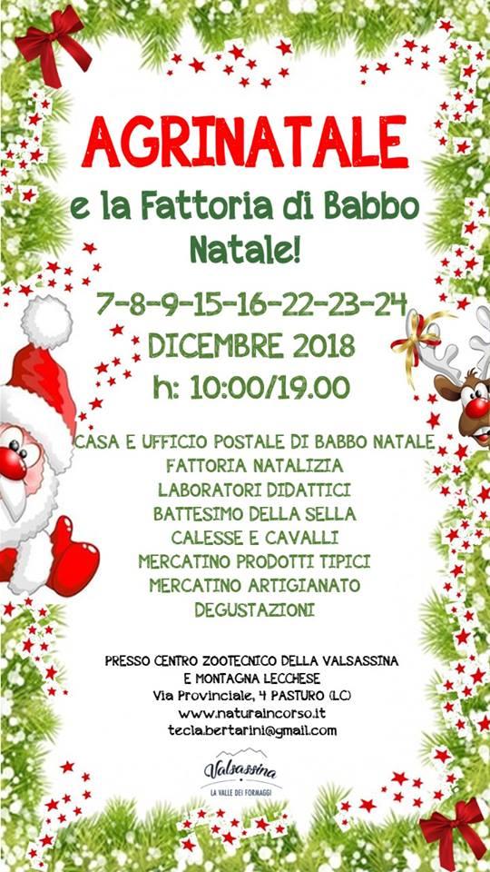 best service ef89f 537ce Agrinatale e La casa di Babbo Natale a Pasturo ~ Lago di ...