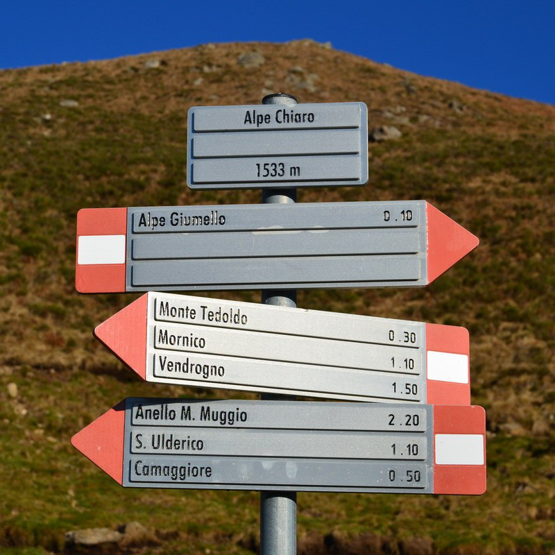 Mount Muggio loop-trail