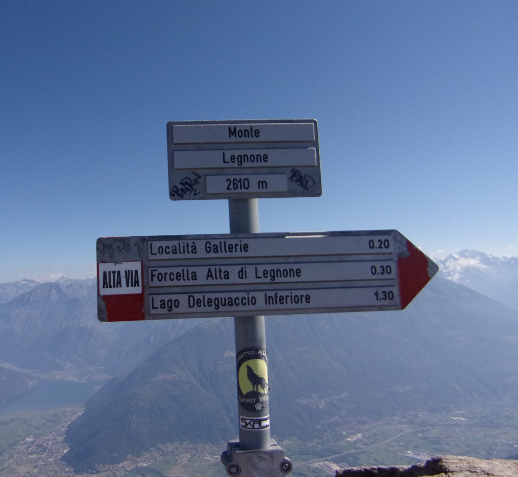 Sul Monte Legnone dai Roccoli Lorla