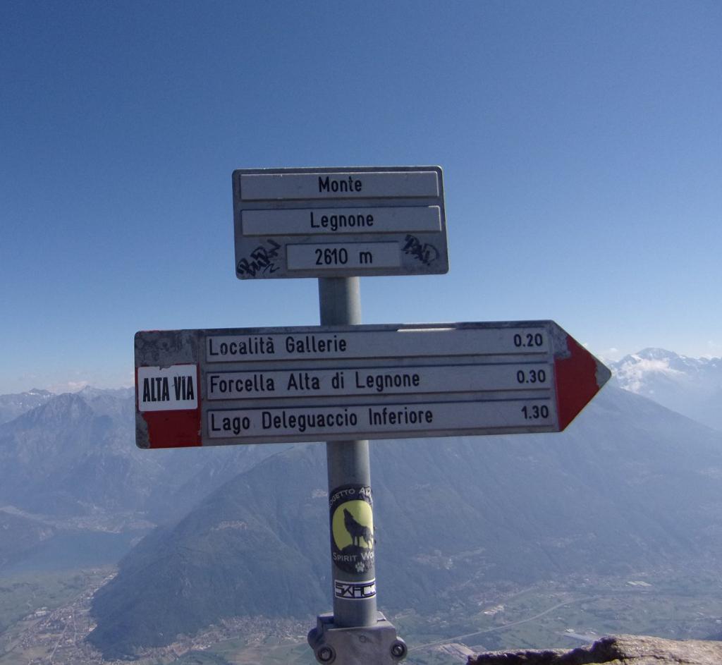 From Roccoli Lorla to Mount Legnone