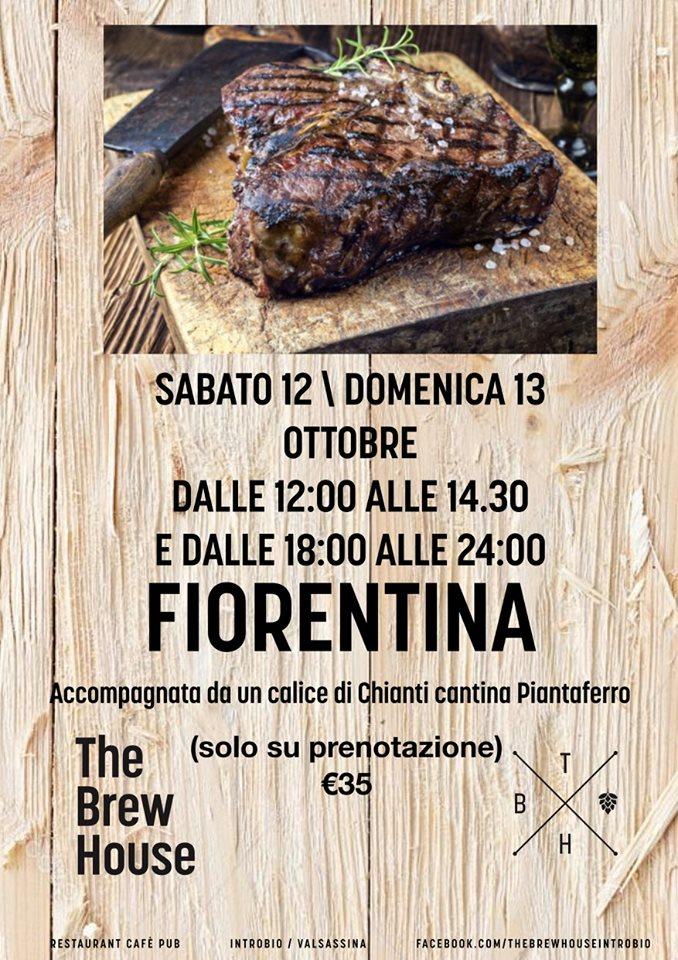 Fiorentina alla The Brew House