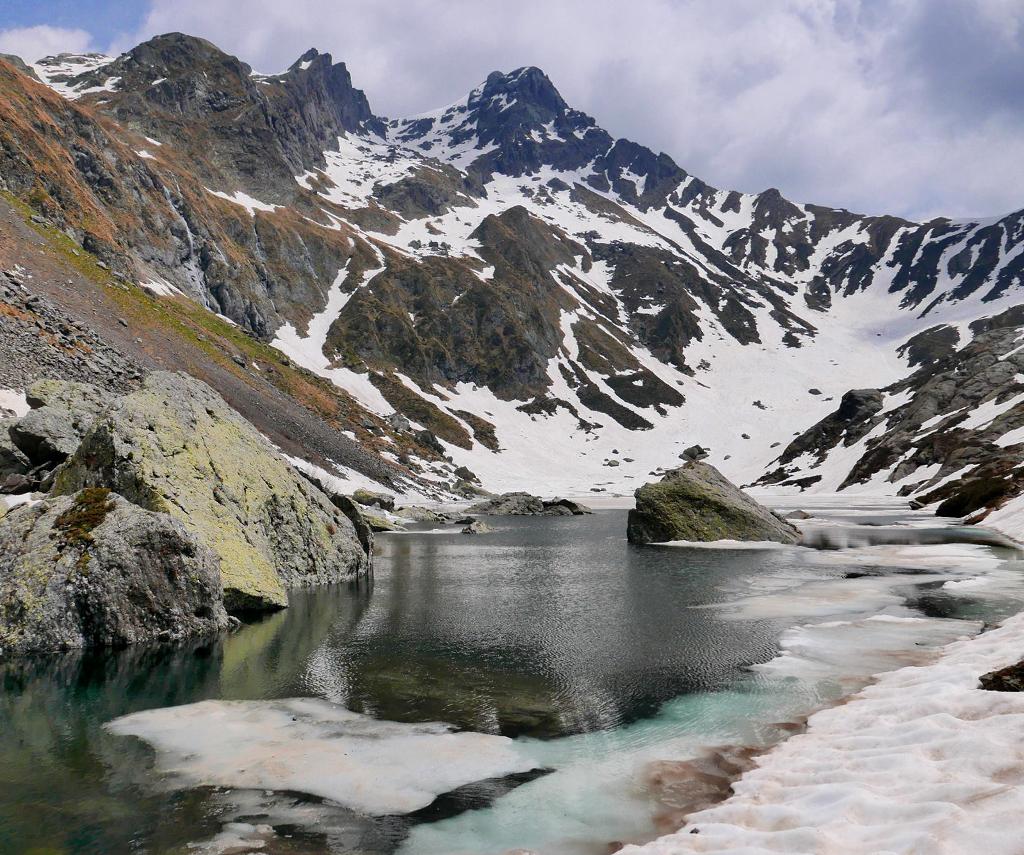 Lake Sasso in Val Biandino