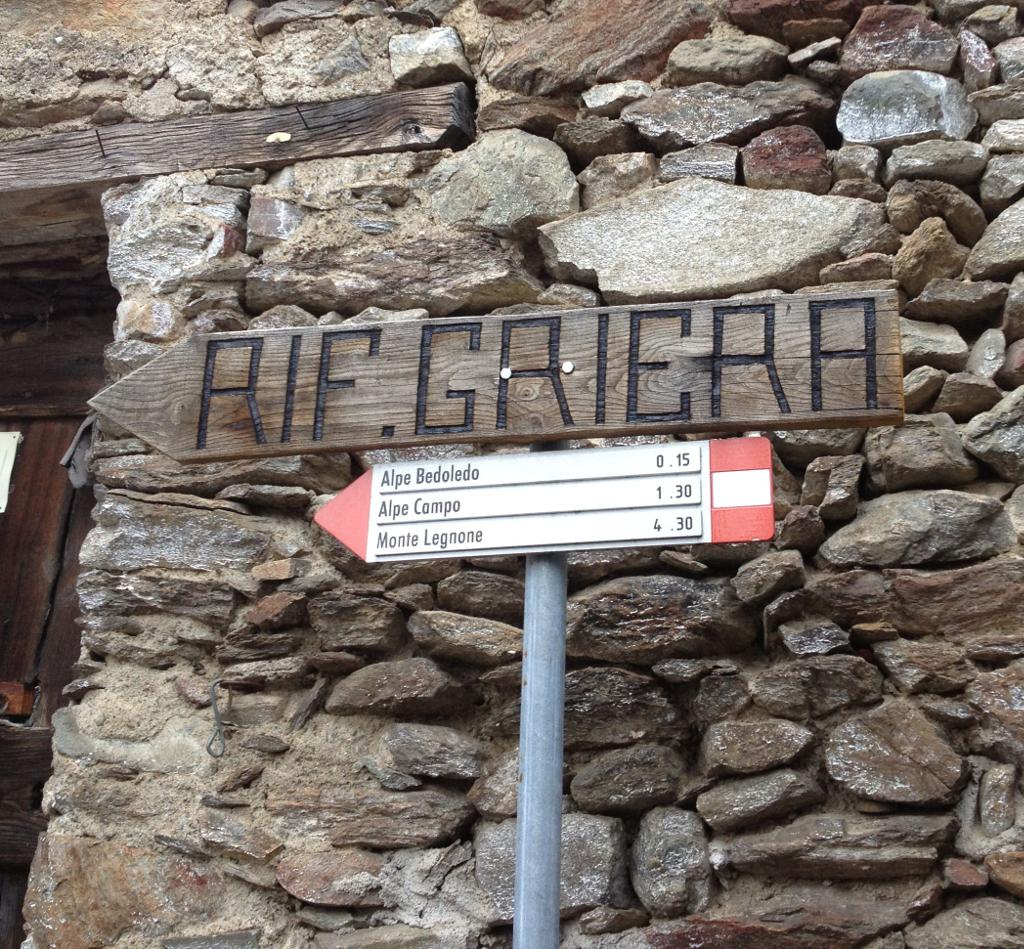 Sul Monte Legnone dal Rifugio Griera