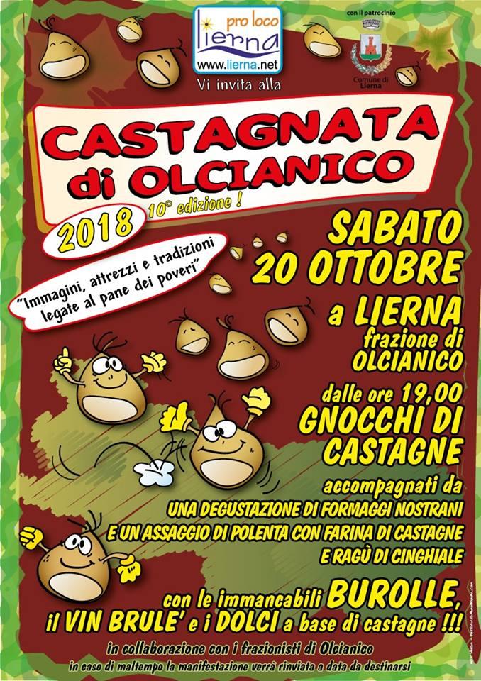 Castagnata di Olcianico a Lierna