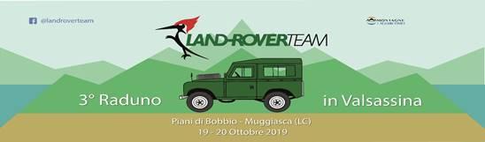 Raduno Land Rover Team in Valsassina
