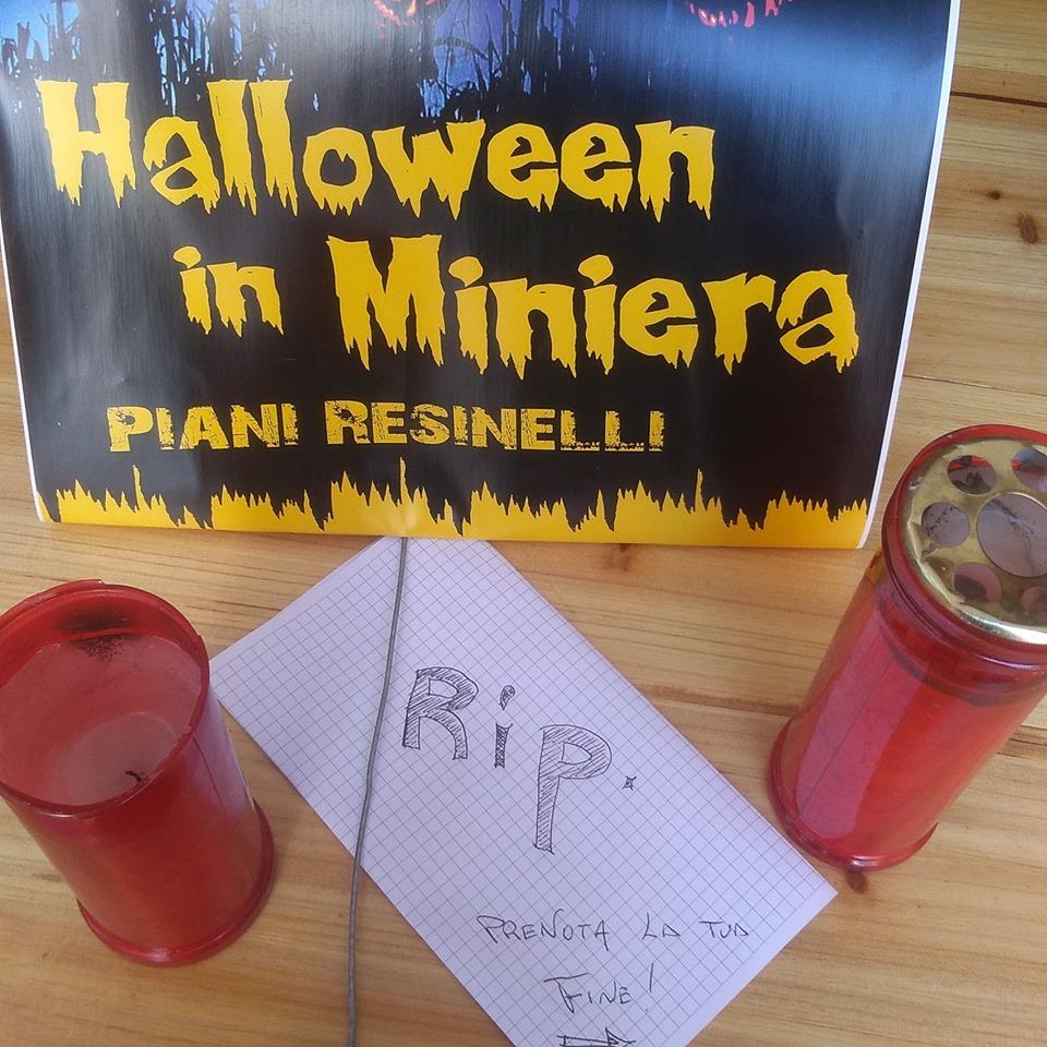 Halloween in miniera ai Piani dei Resinelli