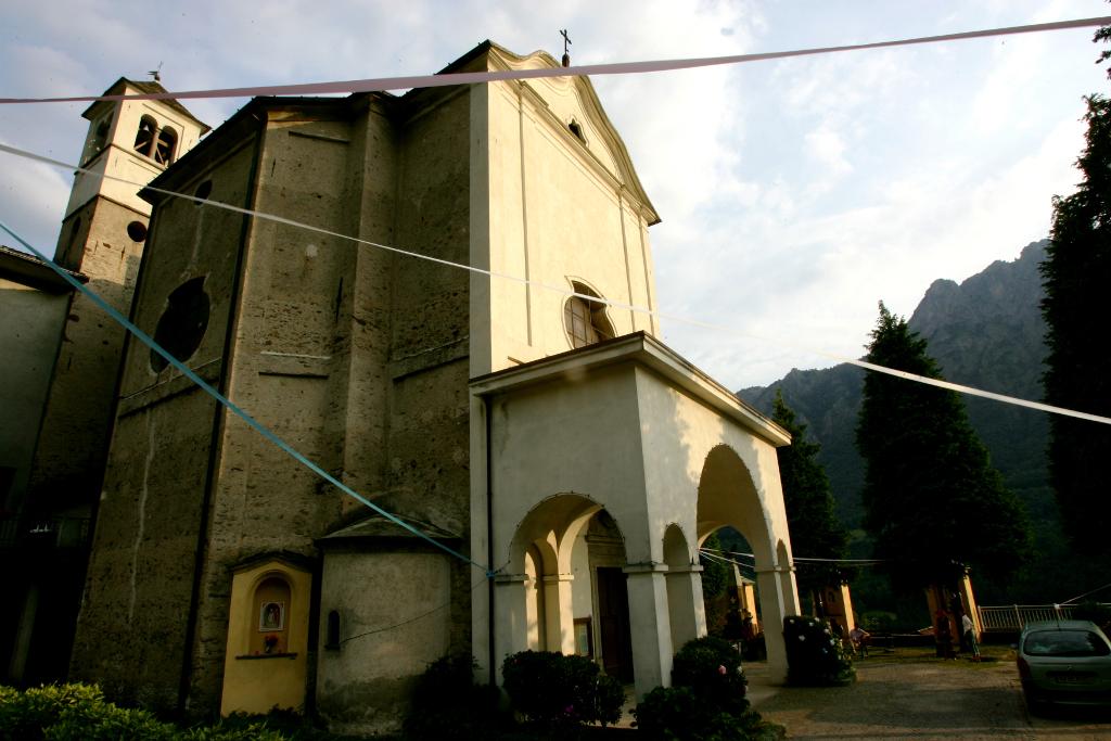 St. Assunta Church in Taceno