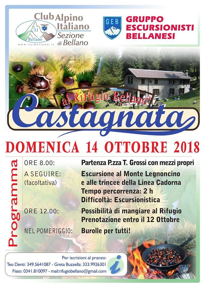 Castagnata sul Monte Legnoncino