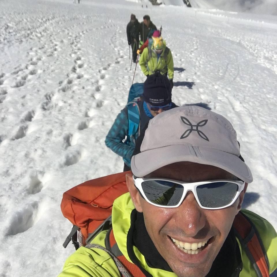 Corso di sci alpinismo con la guida alpina Raffaele Cargasacchi